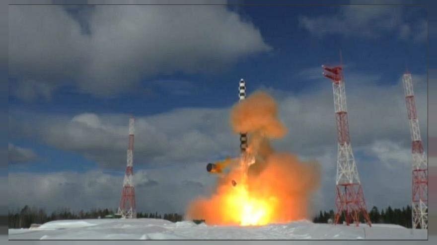 """""""Sátán"""" a neve az oroszok új interkontinentális rakétájának"""