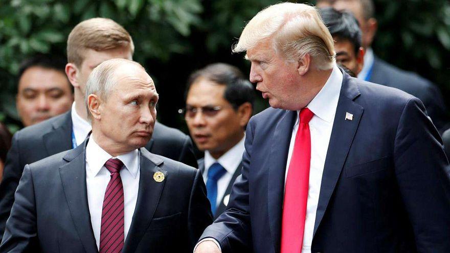 Trump'tan Putin'e: Nükleer silahlanma yarışına girersek kazanan biz oluruz