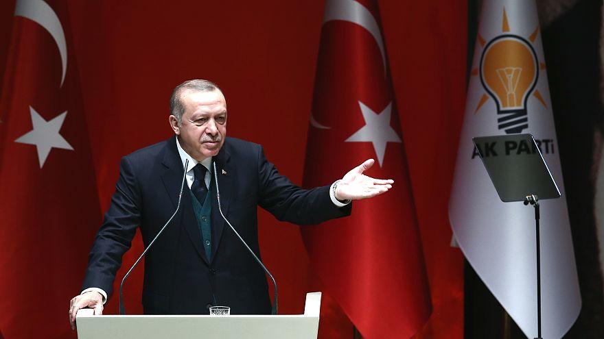 Erdoğan: Baktım garip garip açıklamalar yapıyor, frekansı yüksek bir cevap verdim