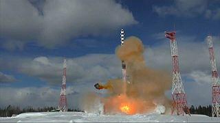 ویدئو؛ روسیه موشک قارهپیمای جدید خود را آزمایش کرد