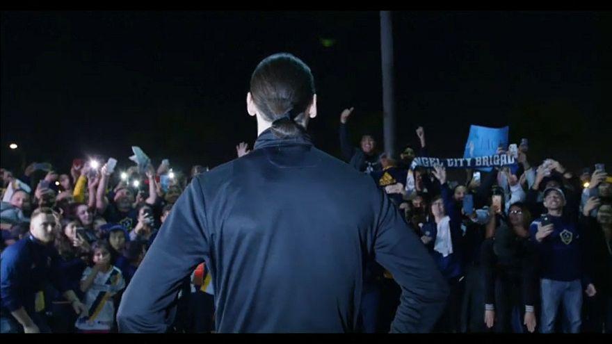 Zlatan Ibrahimovic accueilli comme le messie
