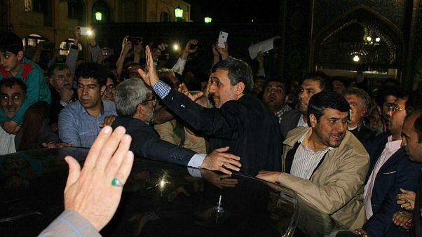 بستنشینی نوروزی احمدینژاد در امامزاده صالح