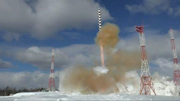 """صاروخ سامارات الباليستي الجديد أو """"الشيطان 2"""""""