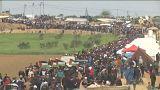 Several Palestinians killed in Gaza-Israel border protests