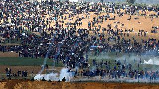 """12 mortos no primeiro dia da """"Marcha pelo Retorno"""""""
