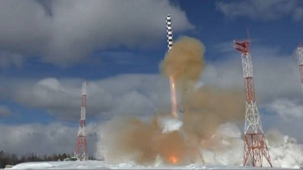 "Video: Russland testet neue ""Satan""-Interkontinentalrakete"