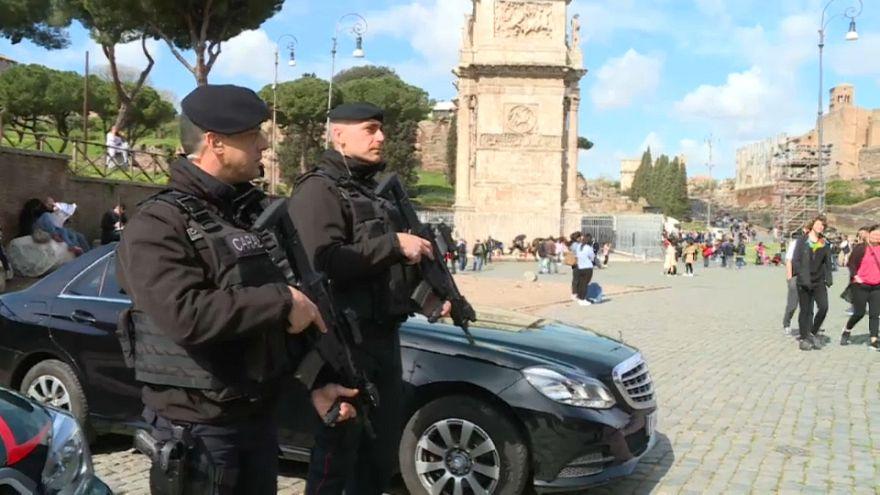 """Roma, Pasqua """"blindata"""""""