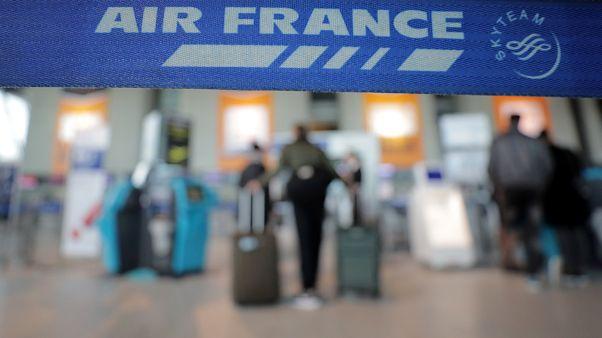 Greve só afeta 24% dos voos da Air France