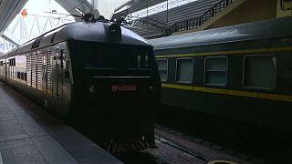 شاهد: القطار الفاخر لكيم جونغ أون الذي استقله للسفر إلى بكين