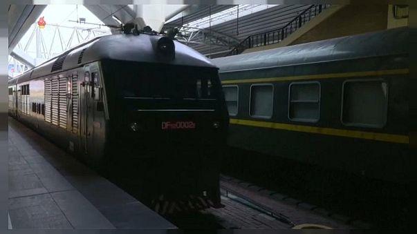 İşte Kuzey Kore liderinin zırhlı lüks treni