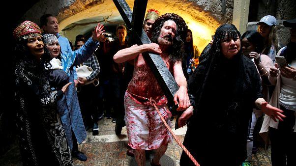 Подготовка к Пасхе на Филлипинах и в Израиле