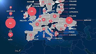 Moscou ordonne l'expulsion de 50 diplomates
