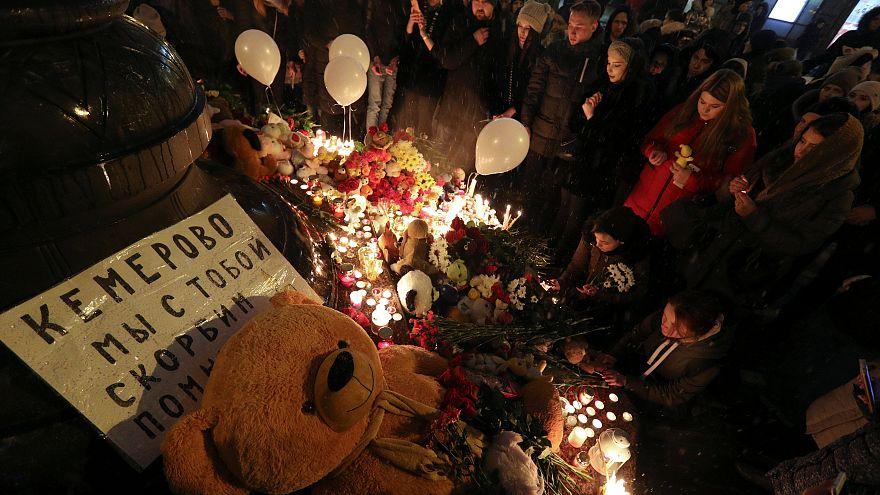 Tragêdia de Kemerovo, na Rússia, marcou o início da semana