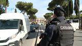 Autoridades italianas reforçam segurança em Roma durante a Páscoa
