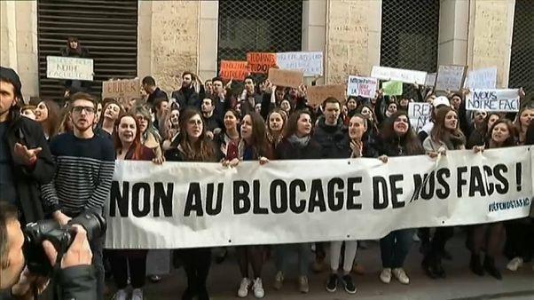 Tambores de guerra en las universidades francesas
