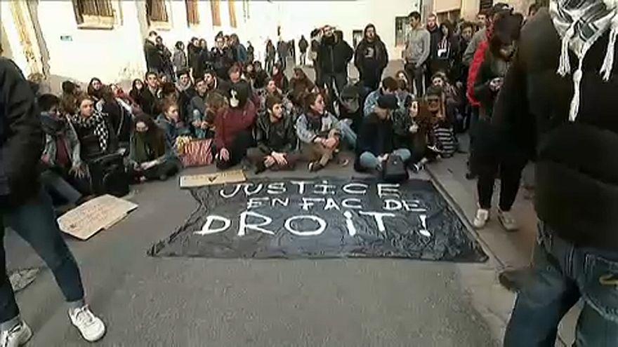 Nagy a feszültség a francia egyetemeken