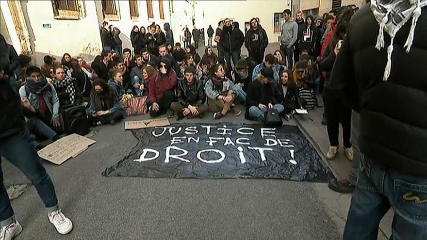 Студенты - против университетской реформы