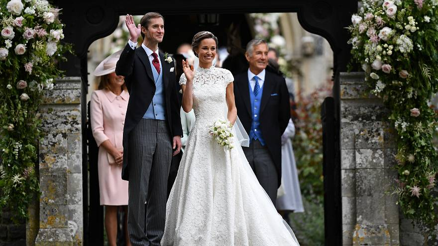 Pippa Middleton and James Matthews marry in Englefield, England, in May.