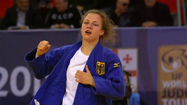 Judo Grand Prix: Theresa Stoll in Gold