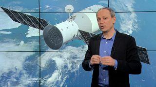 Cennet Sarayı Uzay İstasyonu 1 Nisan'da yeryüzüne düşecek