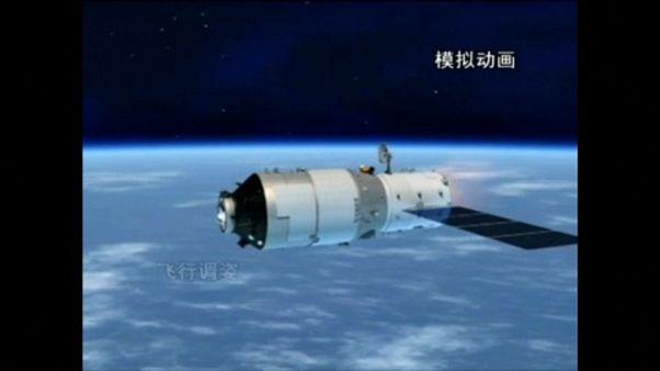 Valószínűleg elég a légkörben a zuhanó kínai űrállomás