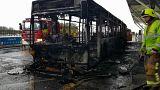 İngiltere: Havalimanında yangın