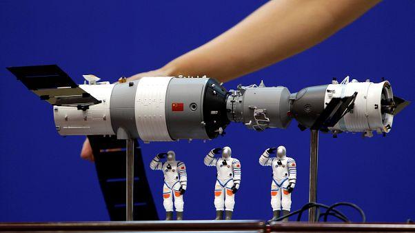 """الصين تستبعد سقوط قطع كبيرة من محطة فضائية """"تائهة"""" على الأرض"""