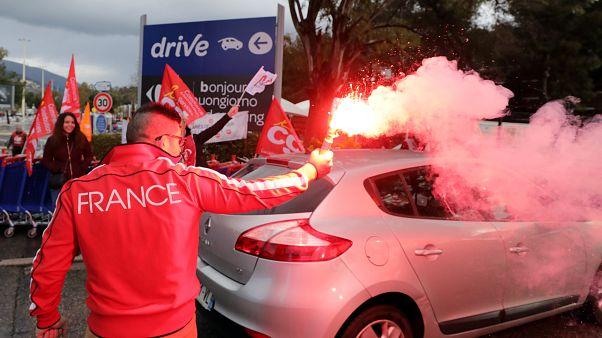 Ostersamstag: Streik bei Carrefour
