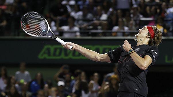 Zverev e Isner na final do Masters 1000 de Miami