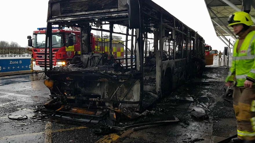 Un terminal de l'aéroport de Stansted évacué
