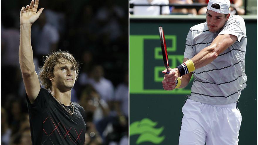 Finale ATP Miami: la freschezza di Zverev contro l'esperienza di Isner