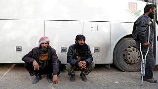 شورشیان منطقه غوطه شرقی