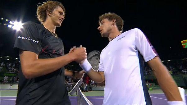 Tennis: Zverev beim ATP-Masters in Miami im Finale
