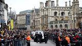 El 'particular' último adiós de Cambridge a Stephen Hawking