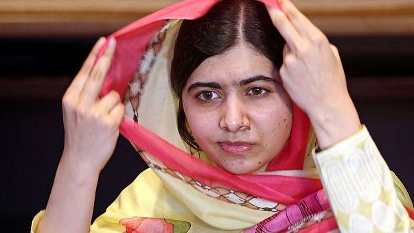 Малала приехала домой
