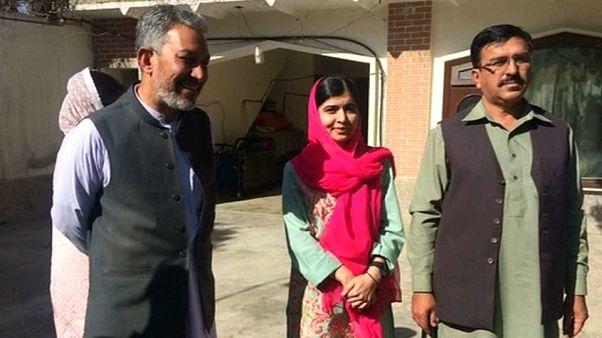 Malala vuelve a casa