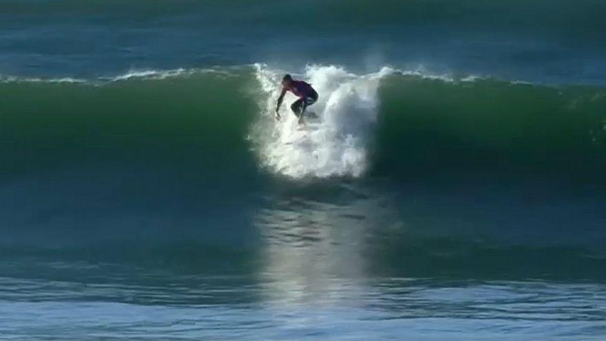 مایک فانینگ در مسابقات موج سواری استرالیا