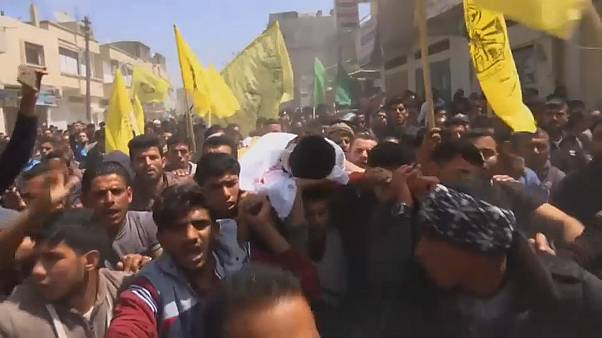 Funerals begin for 15 Gazans killed by Israeli army on Friday