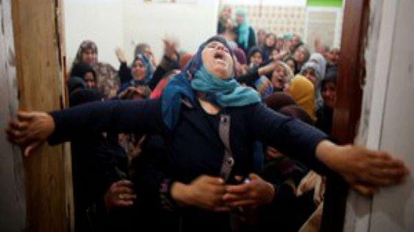 Θρήνος στις κηδείες των Παλαιστινίων