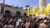 Gazze'de cenaze töreninde İsrail protestosu