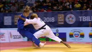 Clarisse Agbegnenou storms to eighth title at Tbilisi Grand Prix