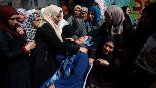 Hunderte trauern im Gazastreifen um die Toten