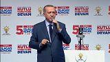 Erdogan critica la destitución del ministro de Interior kosovar