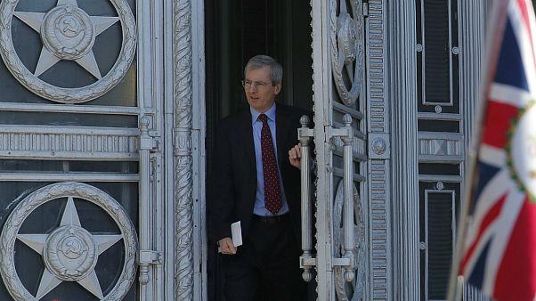 سفیر بریتانیا در مسکو