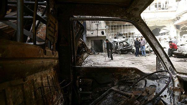 شهر دوما واقع در غوطه شرقی سوریه