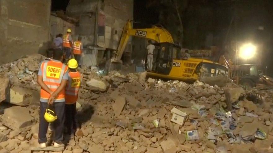 مقتل عشرة وإصابة اثنين في انهيار فندق بوسط الهند