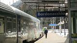La stazione ferroviaria di Bardonecchia