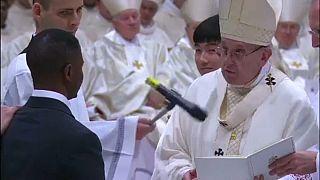 Húsvéti szertartást celebrált Ferenc pápa