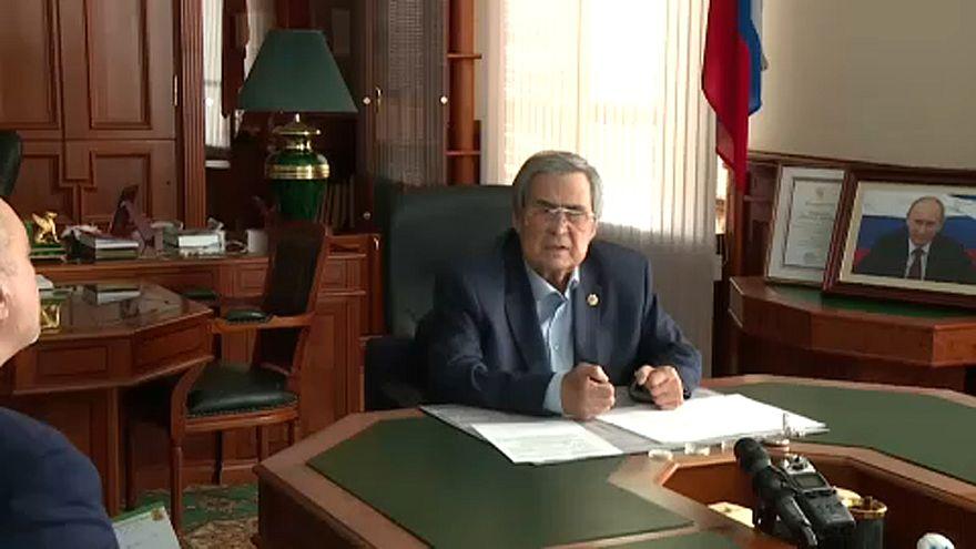 Lemondott a kormányzó a kemerovói plázatűz miatt