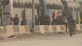 Acuerdo para que los rebeldes evacúen Duma